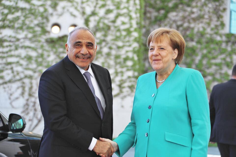 Prime Minister Abd Al-Mahdi holds talks with German Chancellor 58722638_2443688069029052_2126584959907921920_n