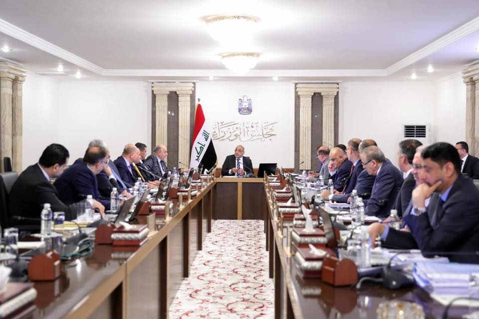 Cabinet discusses development of Iraq's border crossings 70191644_2674019862662537_2146042171076116480_n