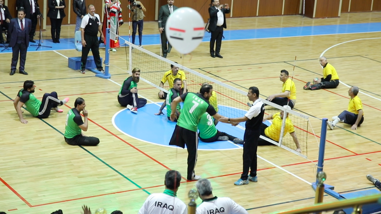 The first training centre for Paralympic and disabled athletes opens in Baghdad  Screen-Shot-2020-01-30-at-4.12.47-PM