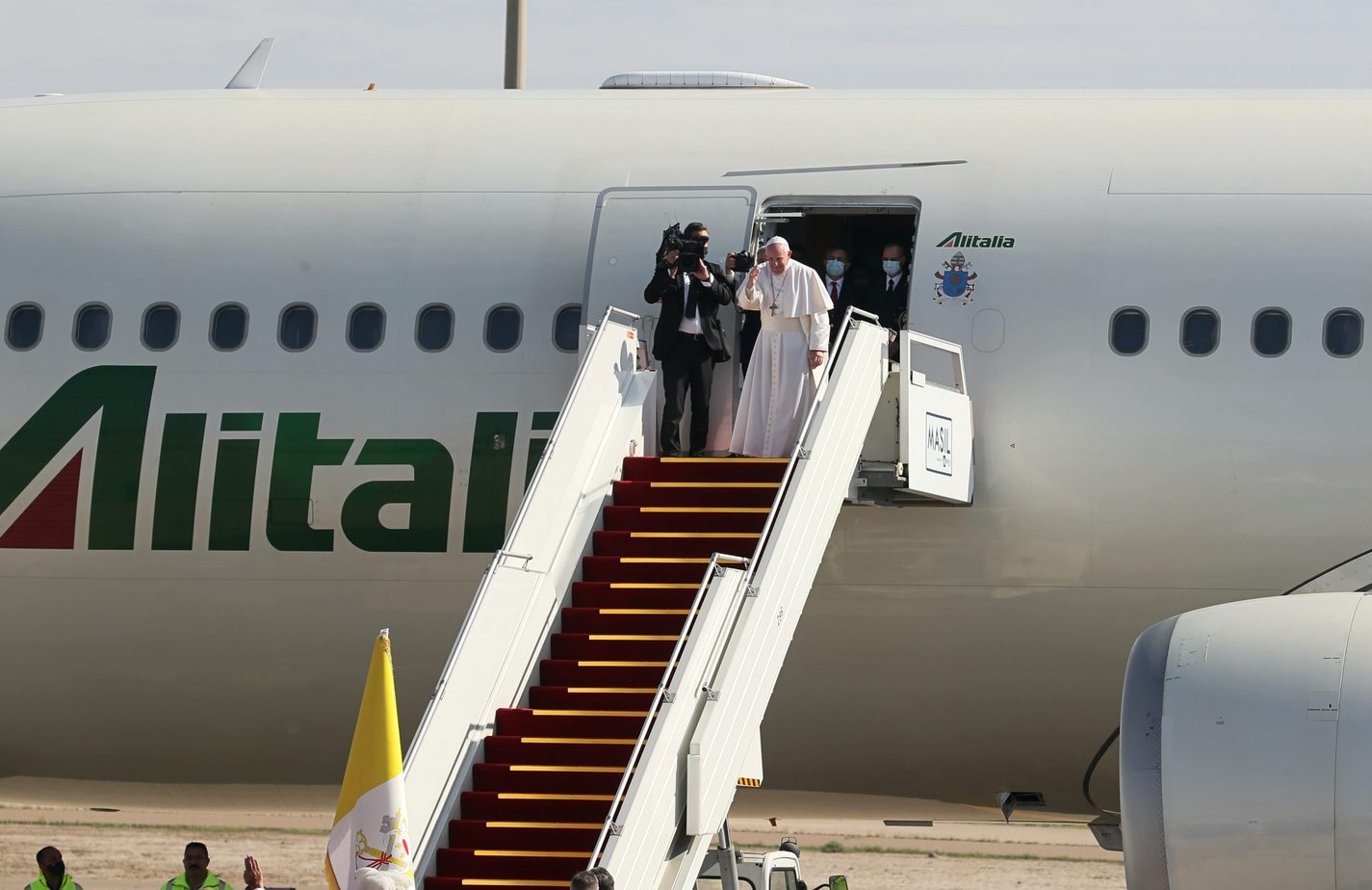 Pope Francis concludes historic visit to Iraq AP21067245058374-scaled
